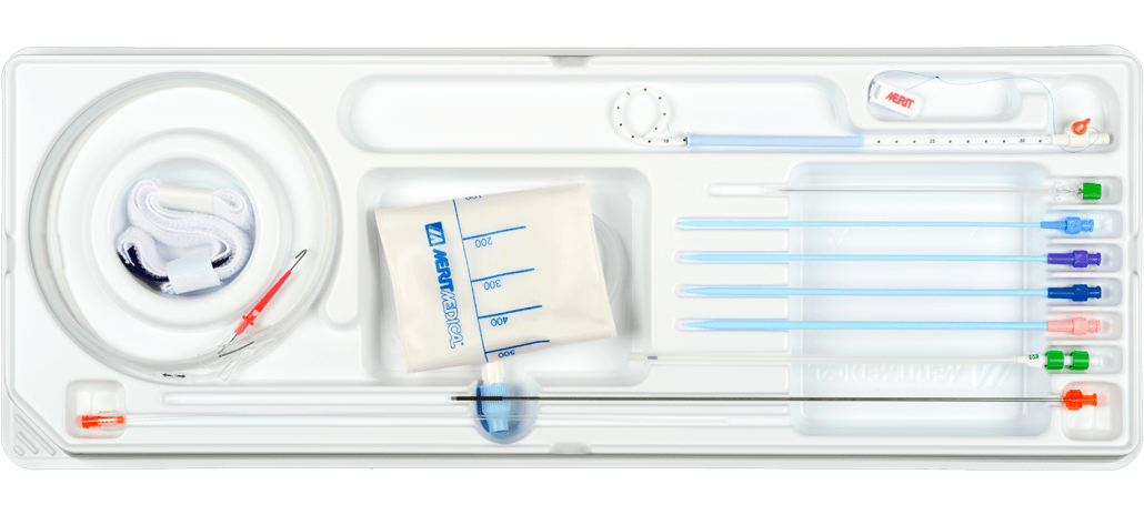 ReSolve Locking Drainage Catheter Trays