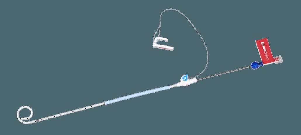 ReSolve Locking Drainage Catheter