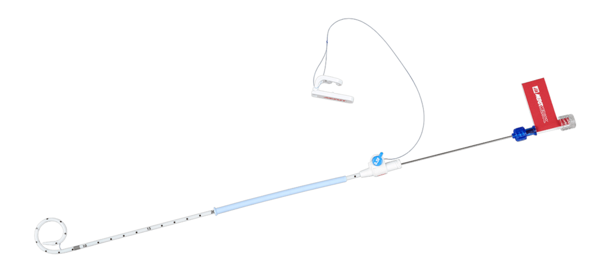 ReSolve Locking Drainage Catheter