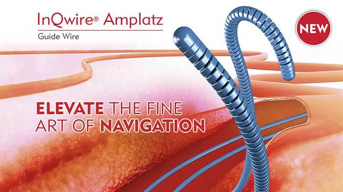 InQwire Amplatz Guide Wire graphic