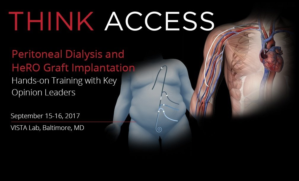 ThinkAccess Peritoneal Dialysis and HeRO Graft Implantation