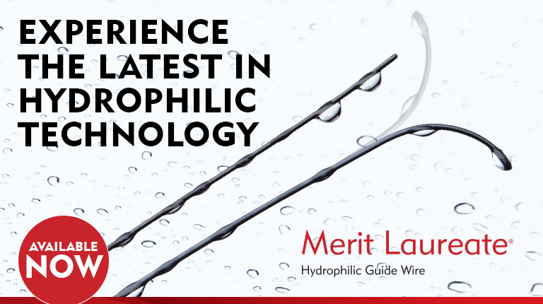 Merit Laureate - Experience the latest in hydrophilic technology