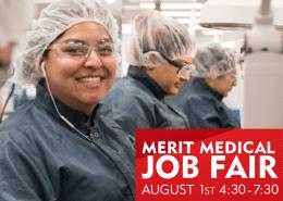 Merit Medical Job Fair 2018