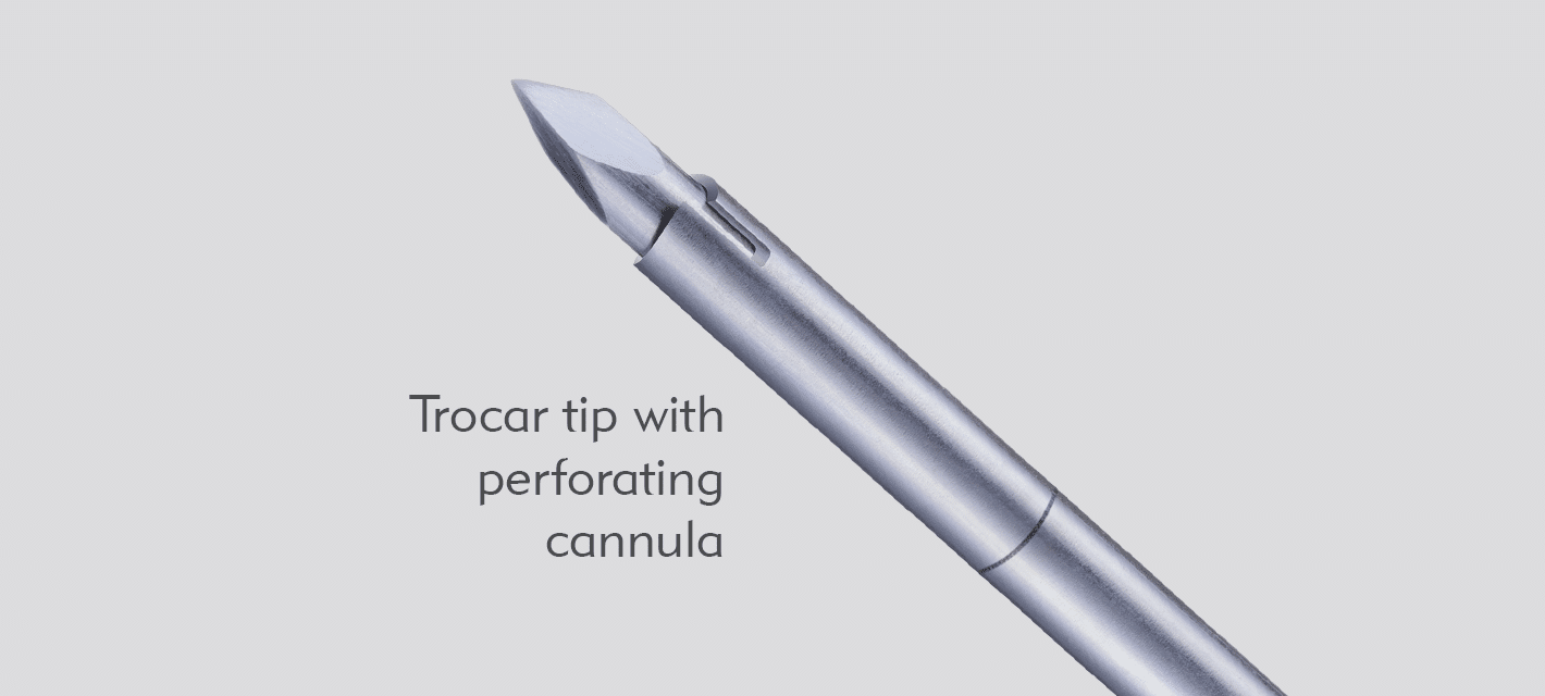 Trocar Tip with Perofrating Cannula - Madison Mini