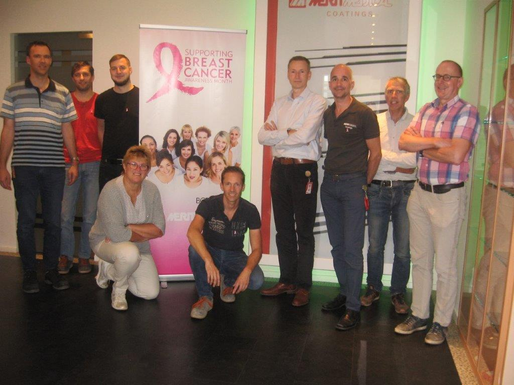 Venlo Supports Breast Cancer Awareness