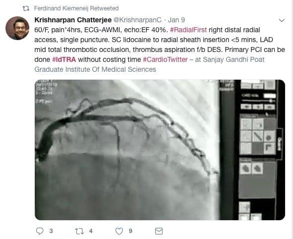 Krishnarpan Chatterjee's Tweet