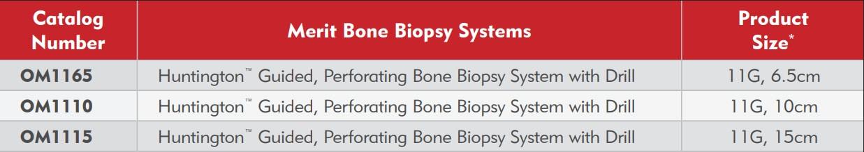 Huntington Bone Biopsy Ordering Info