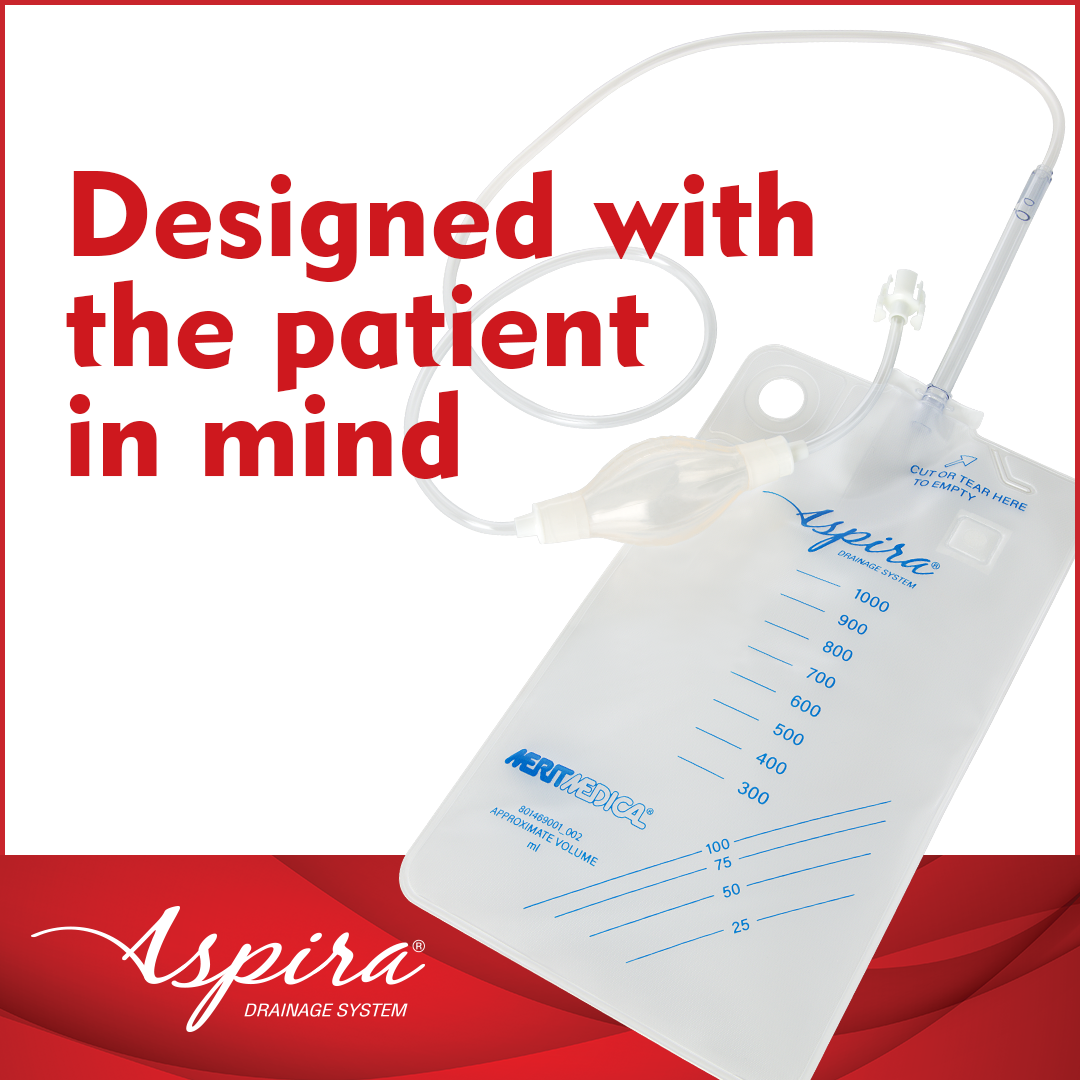 Aspira Drainage System - Designed With the Patient in Mind