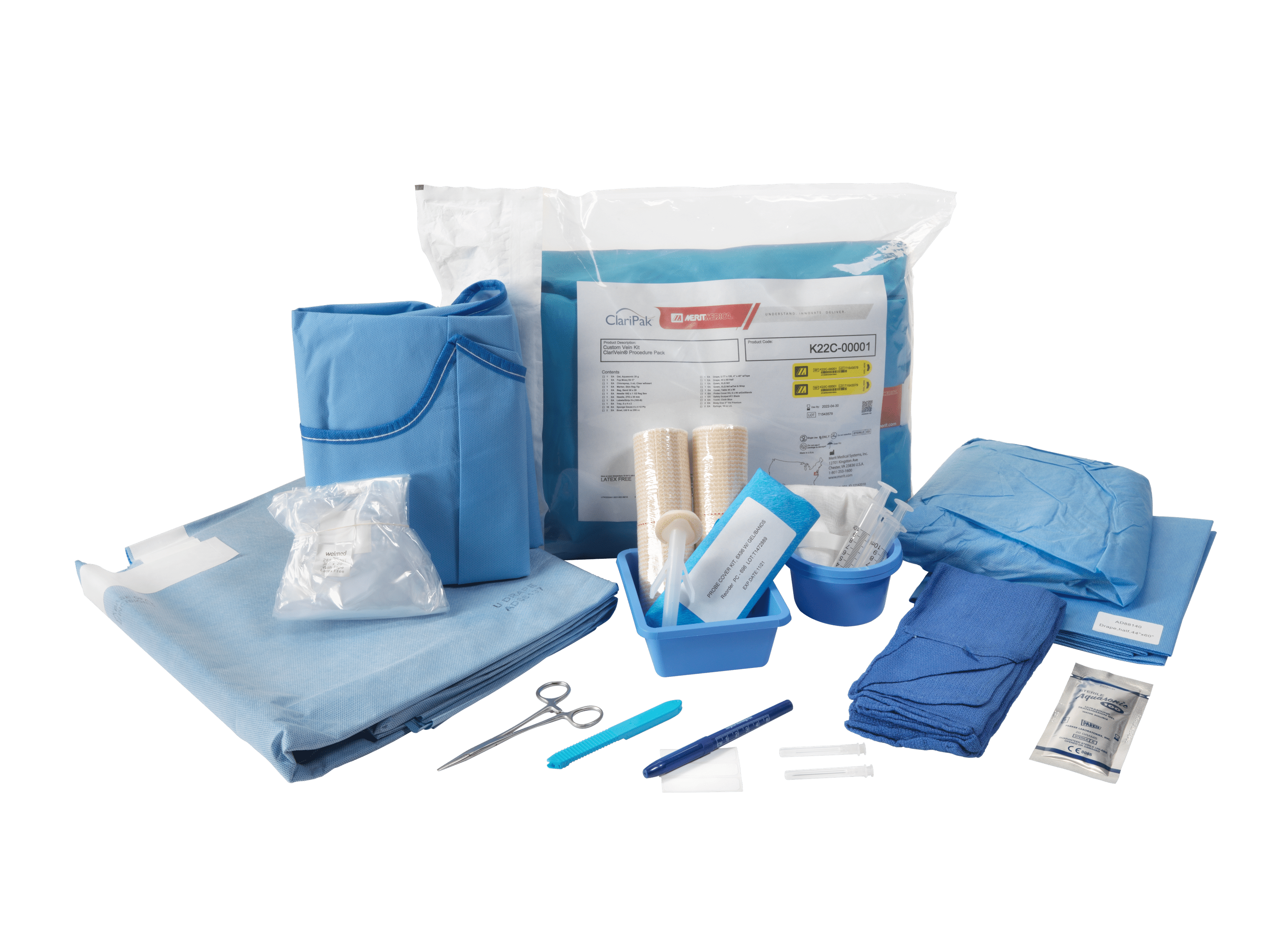 ClariPak Vascular Procedure Kits