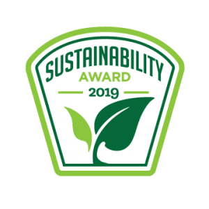 2019 Sustainability Award from the Business Intelligence Group in the Sustainability Leadership category