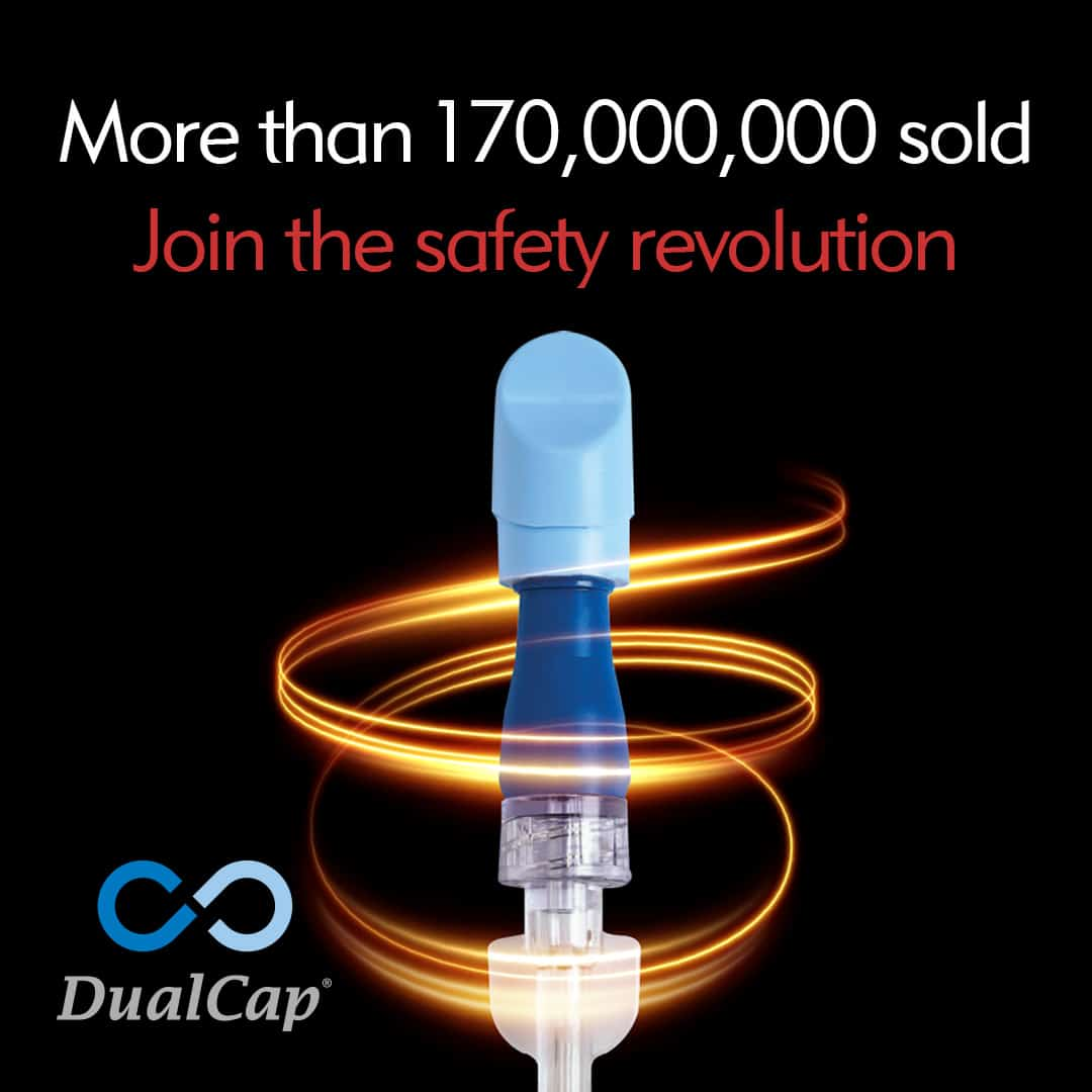 Join the Safety Revolution - More Than 170 Million Sold - DualCap - Infection Prevention - Merit Medical