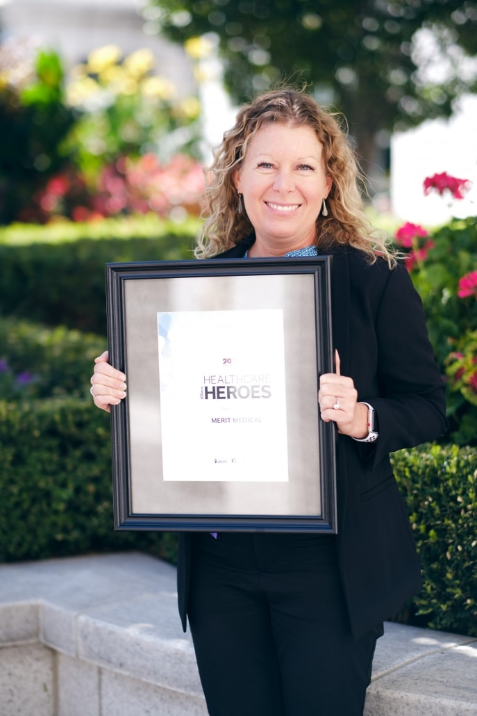 Utah Business Magazine - Merit Medical - 2019 Healthcare Heroes Award Winner - Dr. Priest