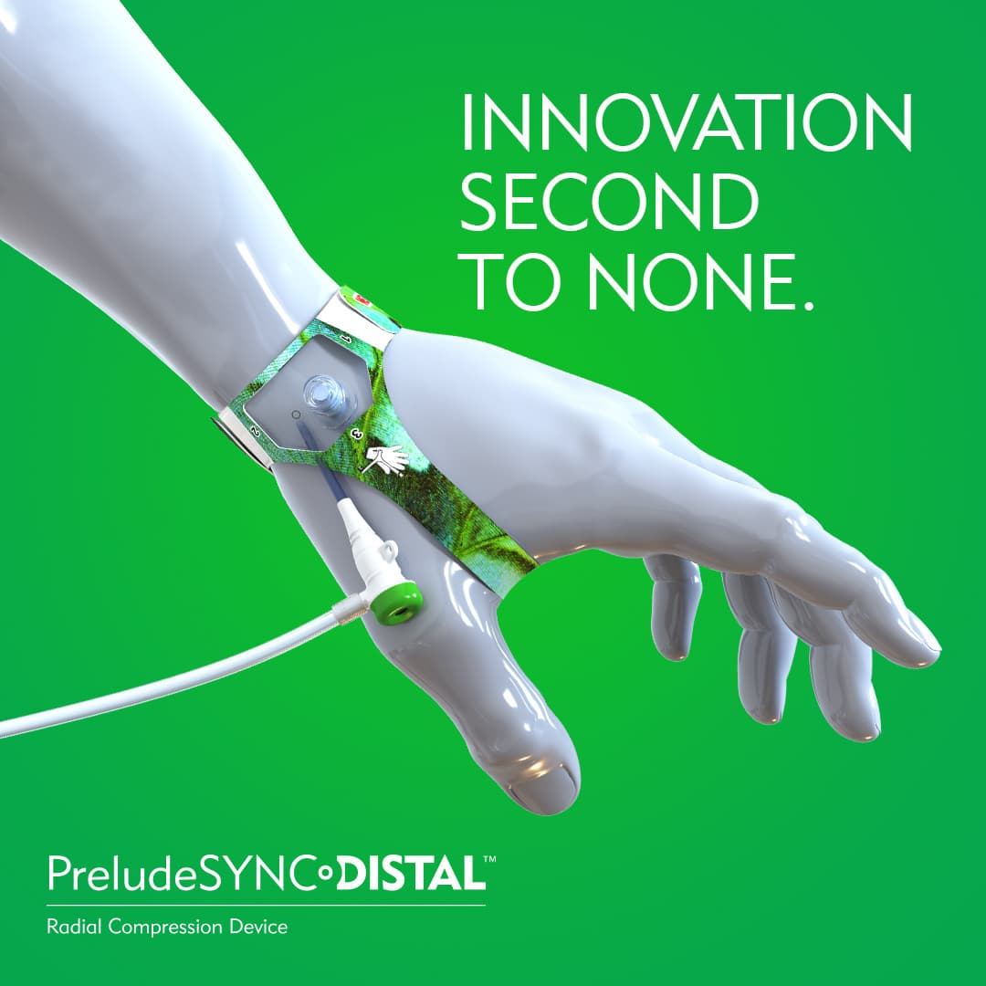 Innovation Second To None - PreludeSYNC DISTAL Radial Compression Device - Merit Medical
