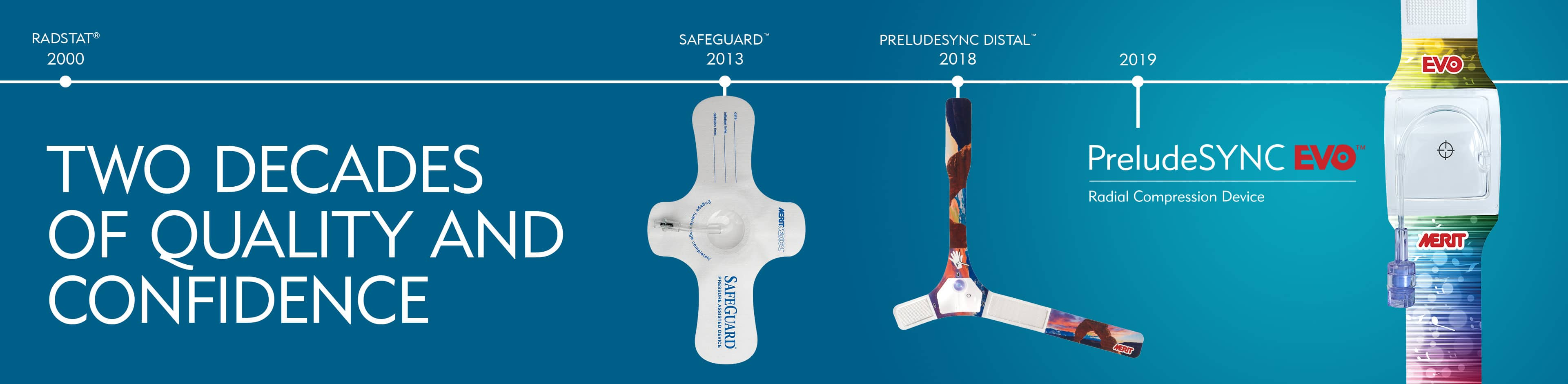 Two Decades of Quality & Confidence in Compression Devices - Merit Medical