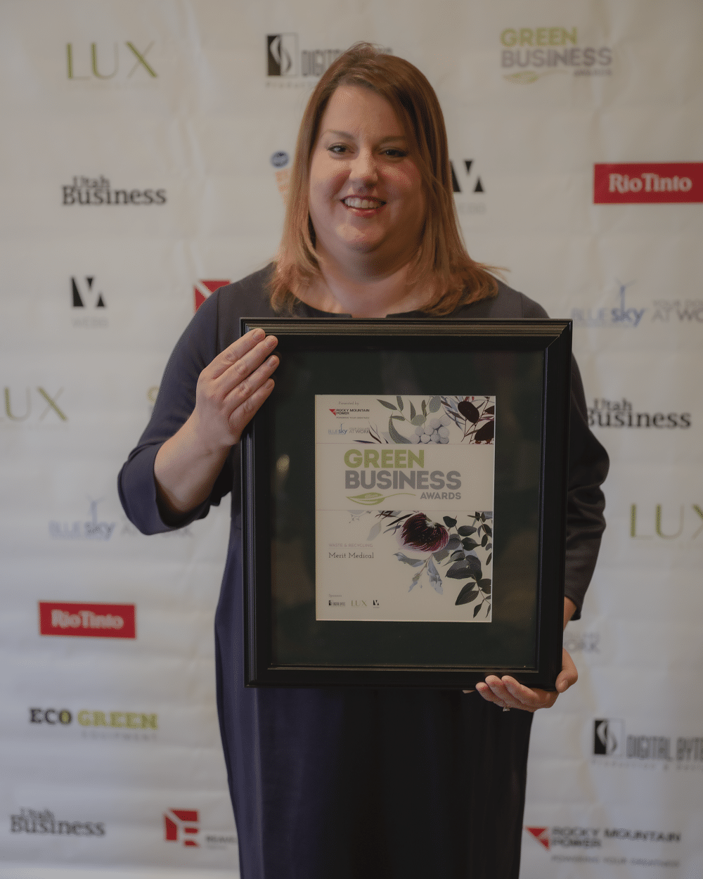 Merit Medical - Alisha Jeraud - Green Business Award 2019 - Utah Business