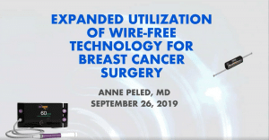 Advanced Application of SCOUT Wire-Free Localization - Anne Peled - Webinar - Merit Medical