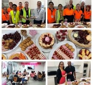 Pink Inspired Morning Tea - Melbourne Australia