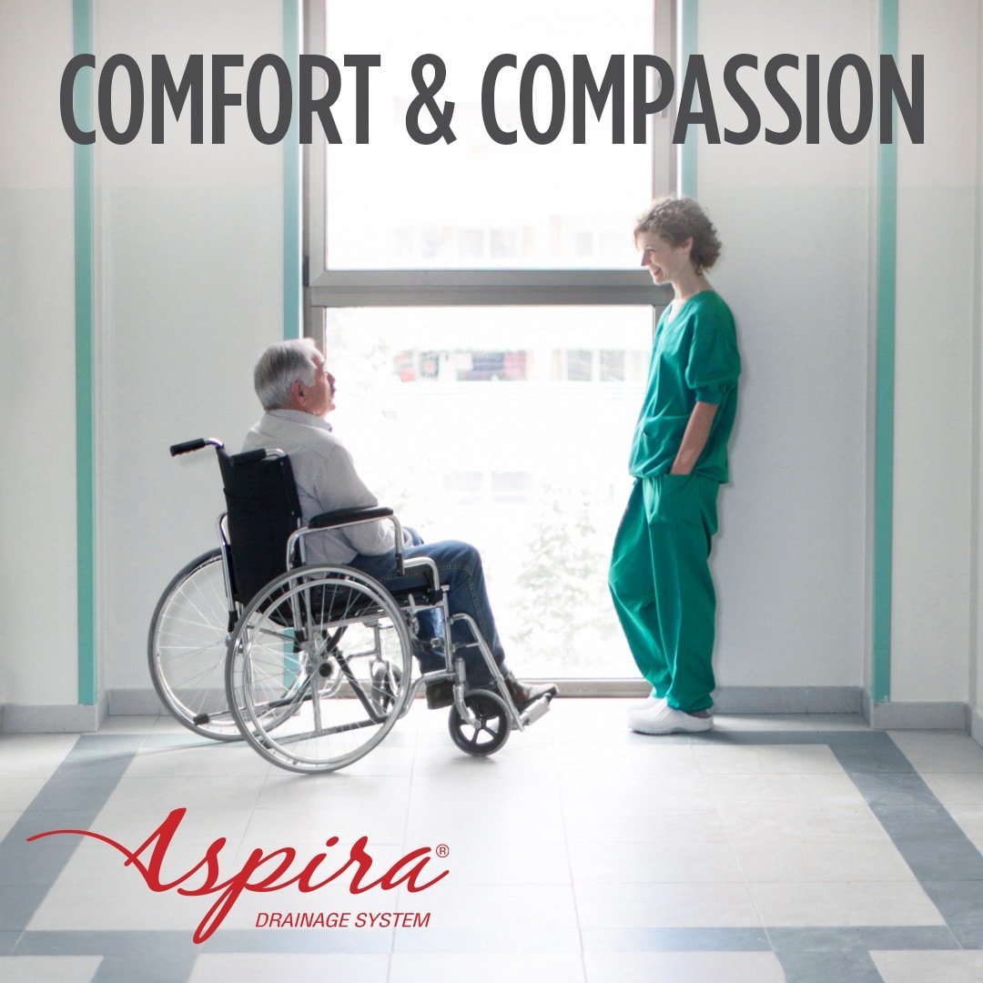 Aspira Drainage System - Comfort & Compassion for your patients - Merit Medical