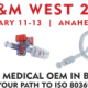 Join Merit Medical OEM at MD&M West 2020 - Booth 2822 - ISO 80369-7 Compliance