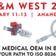Join Merit Medical OEM in Anaheim for the MD&M West 2020 Show