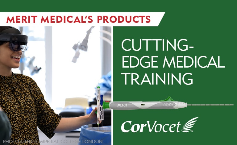 Merit Medical Products Support Cutting-Edge Medical Training