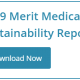 Download the 2019 Merit Medical Sustainability Report