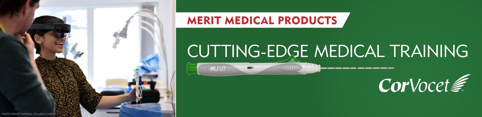 Merit Medical Products Support Cutting-Edge Medical Training V2