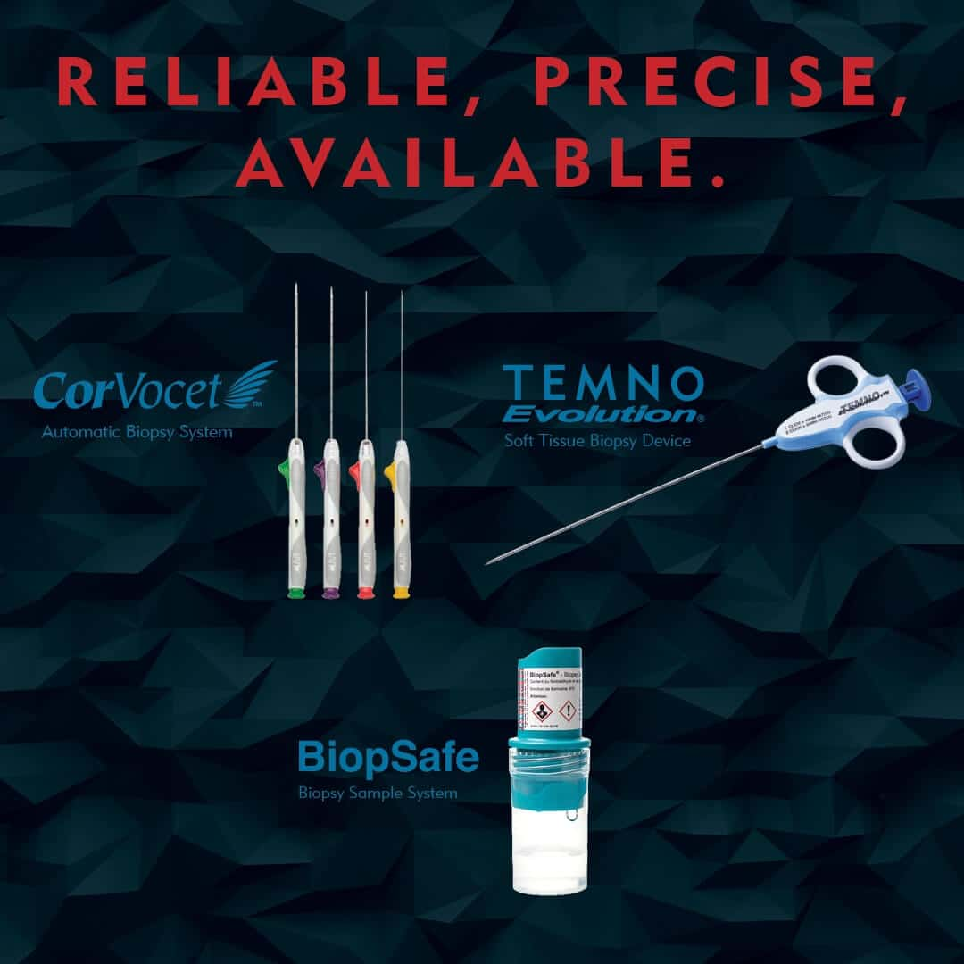 Reliable Precise and Available - Biopsy Solutions for Bone and Soft Tissue - Merit Medical