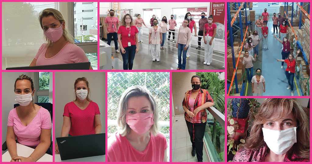 Brazil - Sporting Pink for Breast Cancer Awareness Month - Merit Medical