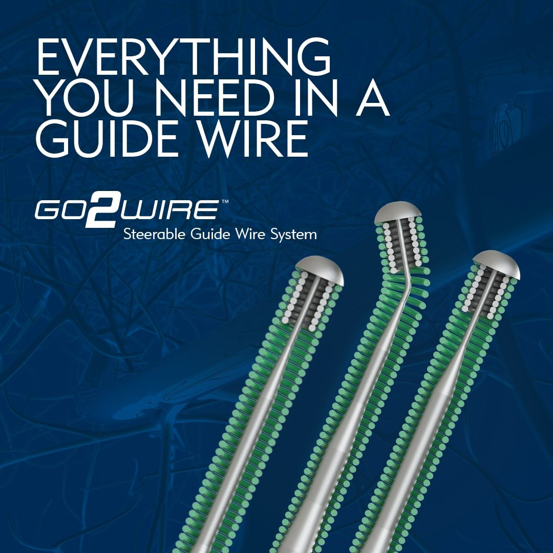 Everything You Need in a Guide Wire - Merit Medical - GO2WIRE Steerable Guidewire