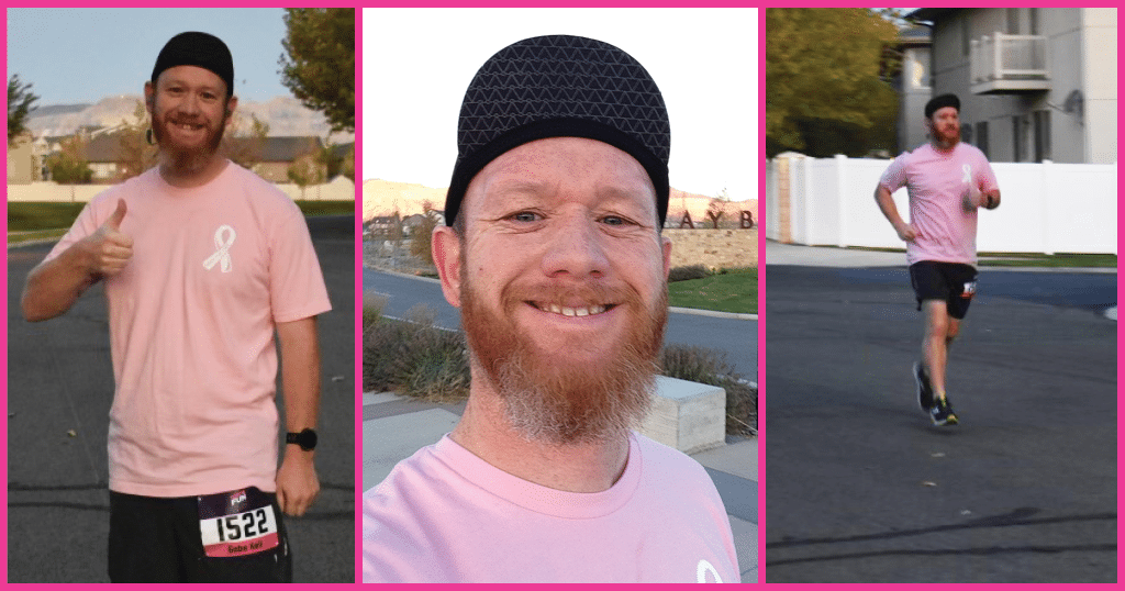 Gabe Keil - Merit Salt Lake City - Runs For a Purpose - Breast Cancer Awareness