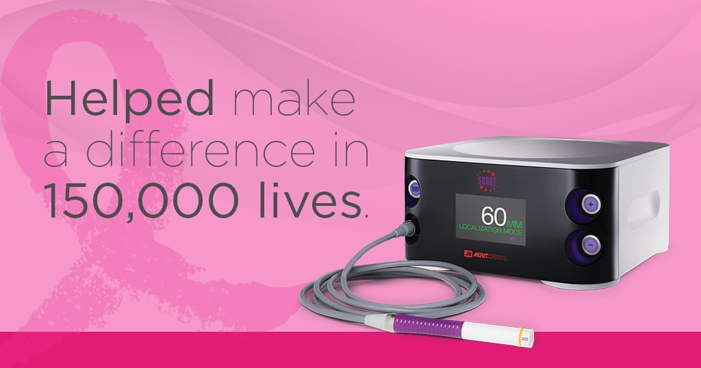 150,000 Women Treated - SCOUT Radar Localization - Breast Cancer Awareness Month at Merit Medical