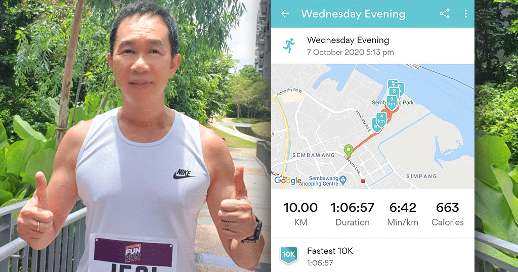 Soonglee Chin - Merit Singapore - Runs For a Purpose - Breast Cancer Awareness