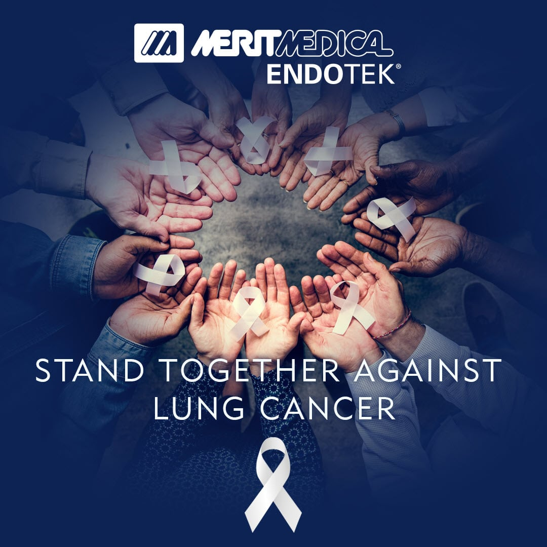 Lung Cancer Awareness Month - Merit Medical Endoscopy