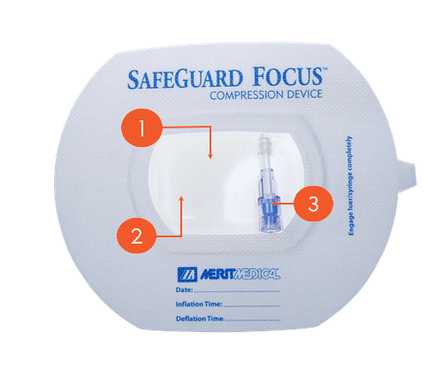 SafeGuard Focus - Adhesive - Merit Medical
