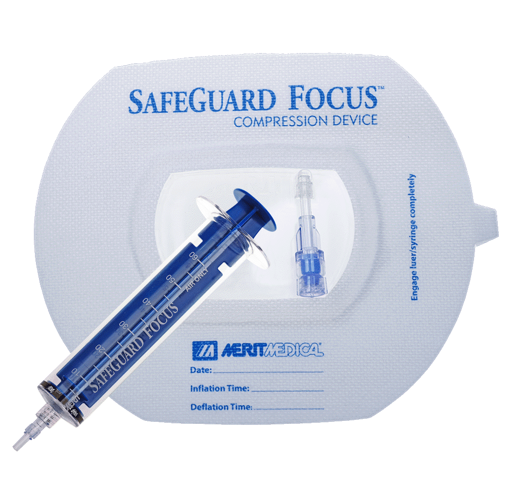 SafeGuard Focus Compression Device With Adhesive