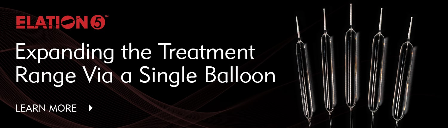 Elation5 - Expand Your Treatment Range With 1 Balloon