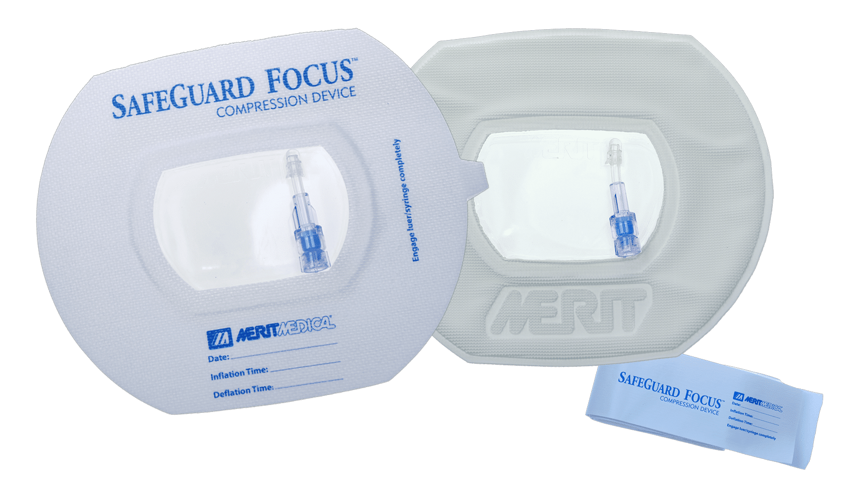 SafeGuard Focus - With and Without Adhesive - Compression Device
