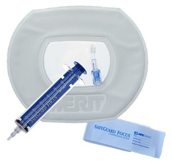 SafeGuard Focus with Adhesive - Compression Device for CRM