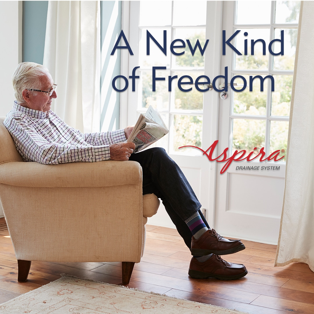 A New Kind of Freedom - Compassionate Care with the Aspira Drainage System