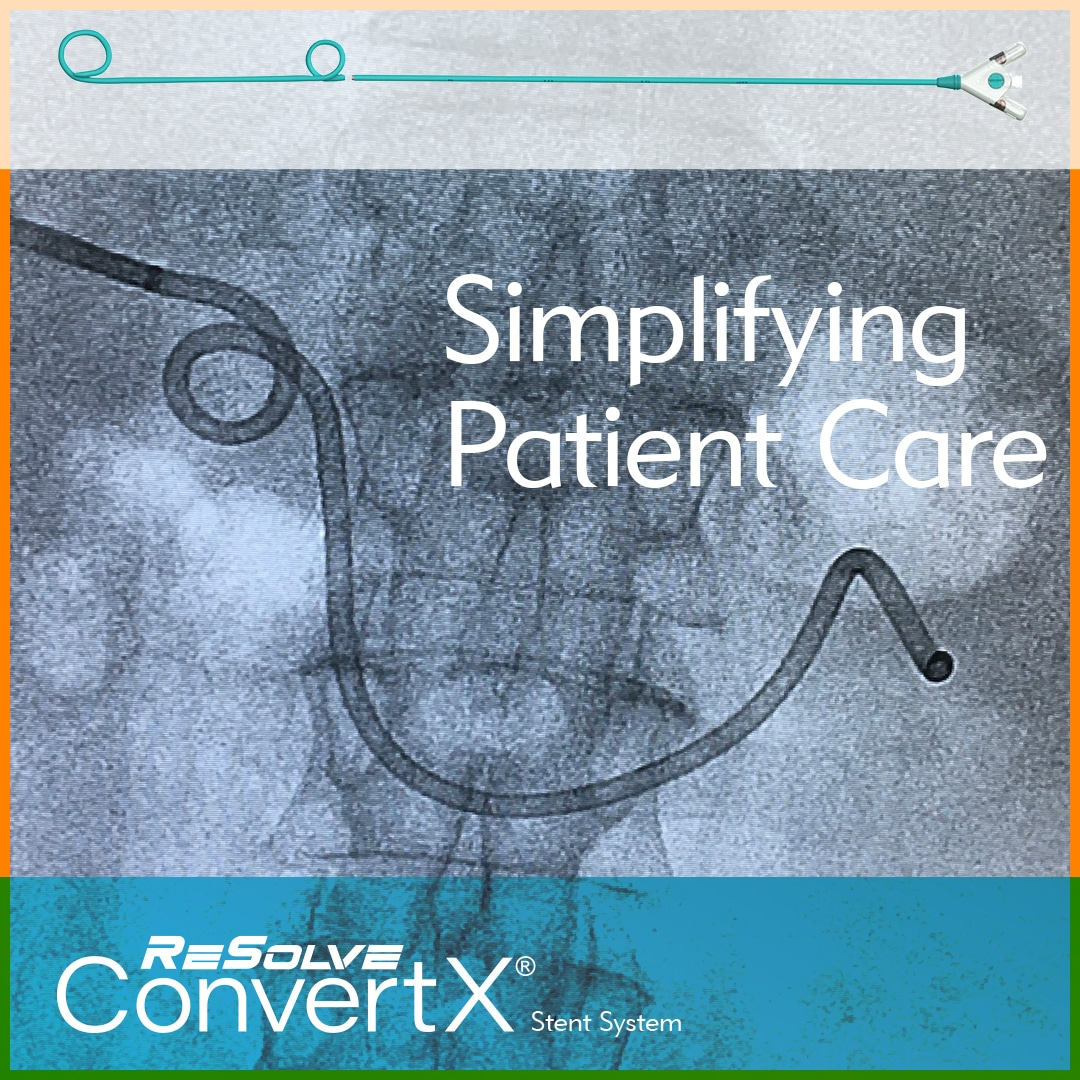 Simplifying Patient Care with ConvertX Stent System