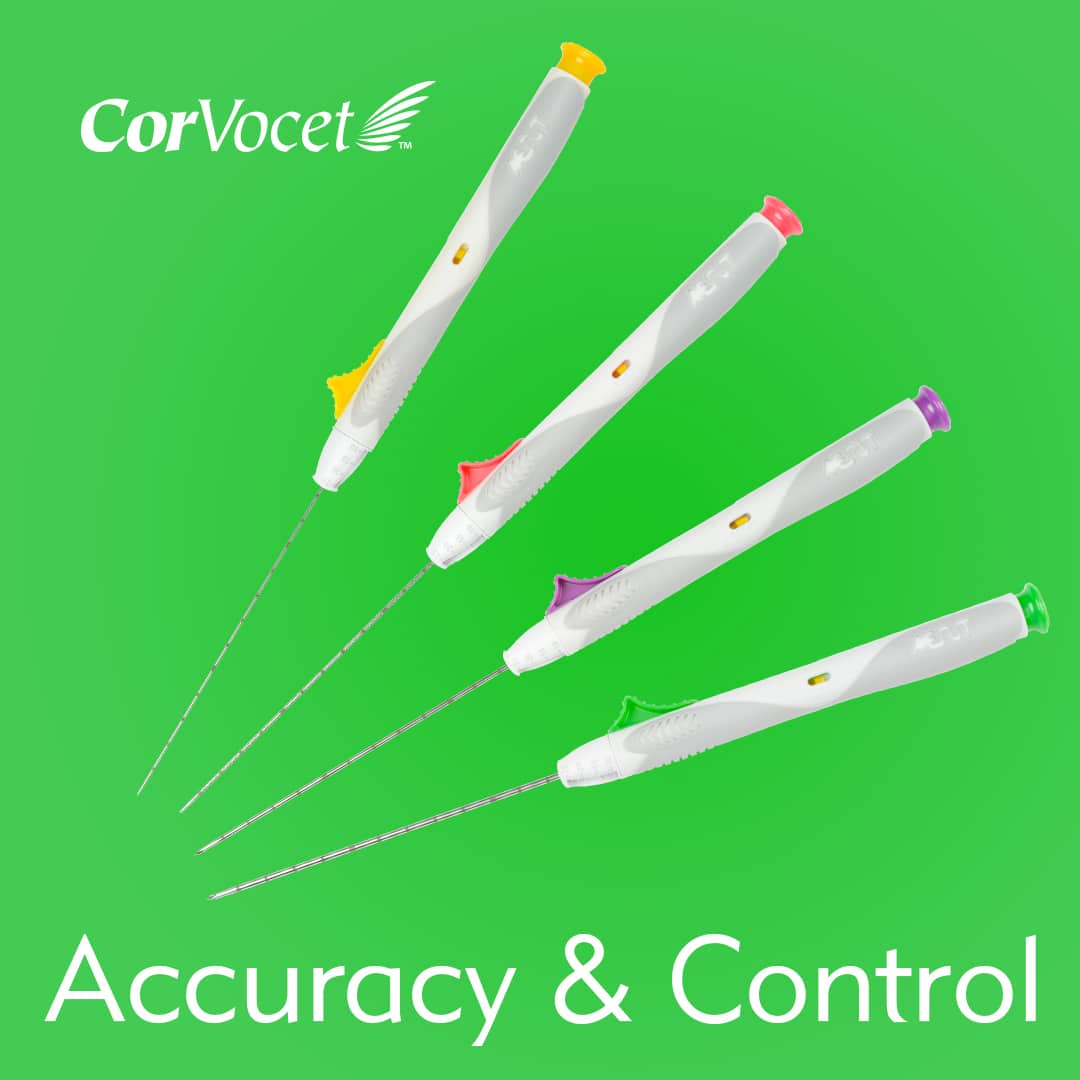 Accuracy & Control with CorVocet Biopsy System