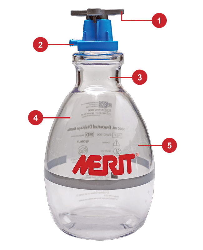 One-Vac Bottle has a number of design features that will provide lasting benefits to you and your patients