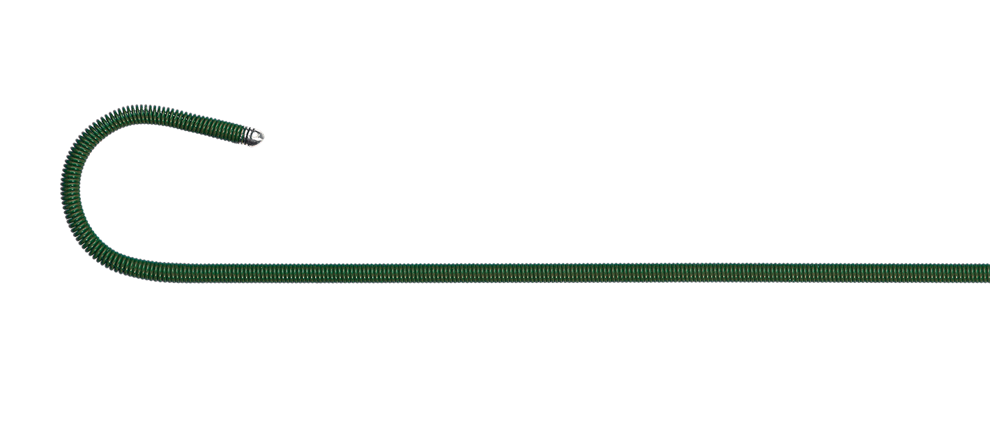 green InQwire guide wire for MultiPack Plus