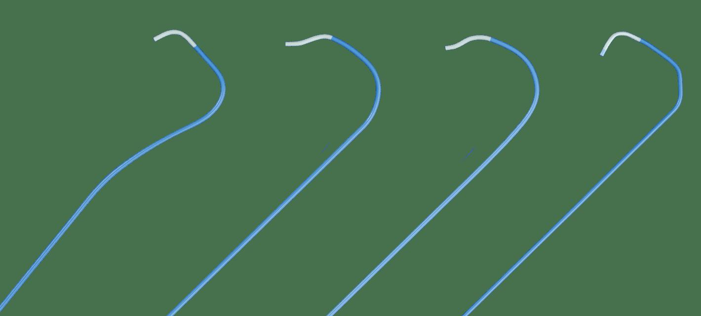 Merit Performa Diagnostic Catheter variations